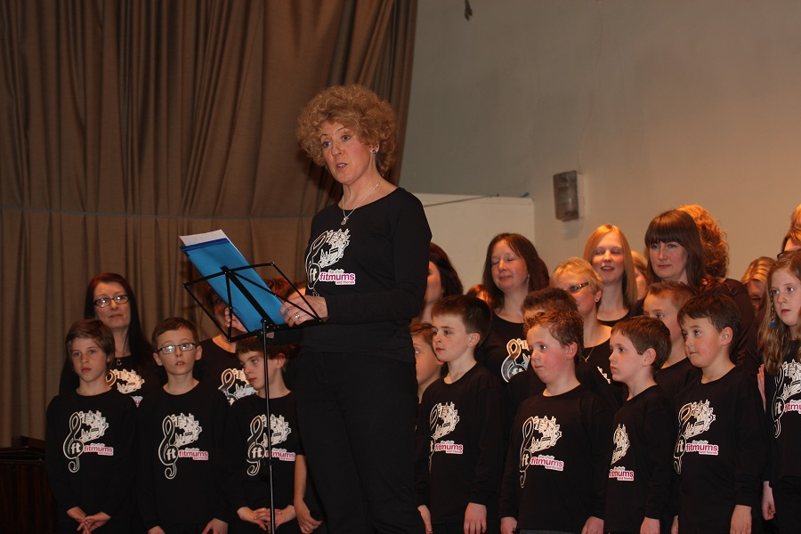 Fitmums & Friends Choir, 2014