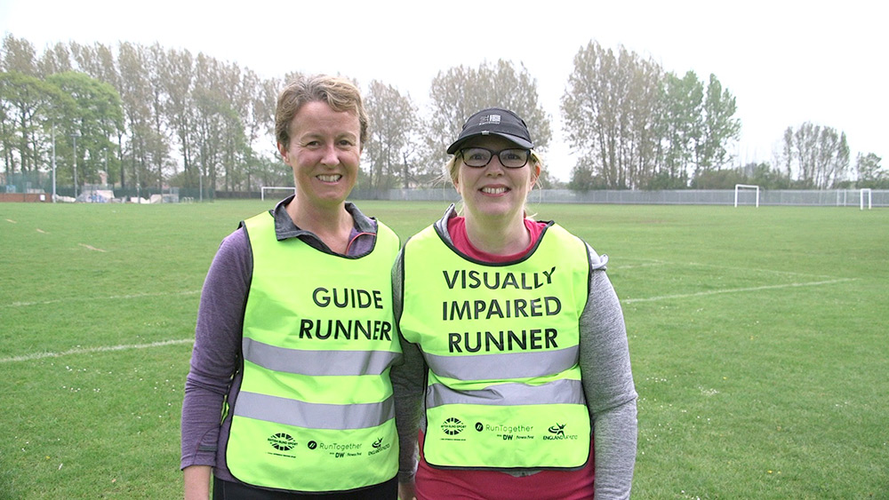 Guide Team runners, Photo : David Reeves BBC Radio Humberside